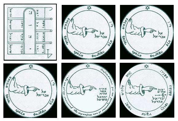 Los 6 Pentáculos Lunares