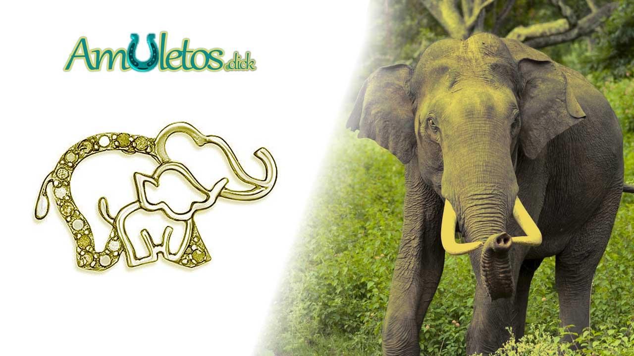 el amuleto Elefante